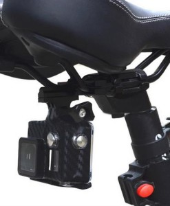 Aluminum Bike Seat Mount Clip-Compatible With Gopro & Action Camera